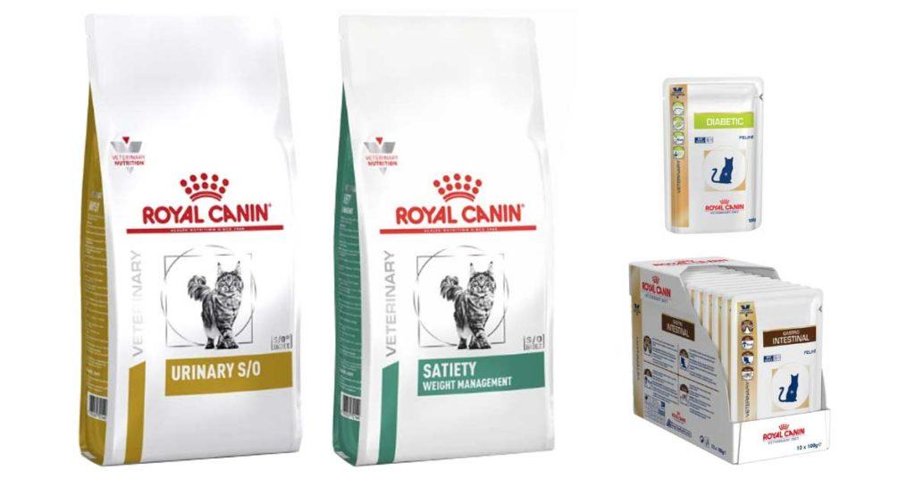 Royal Canin kissojen erikoisruokavaliot